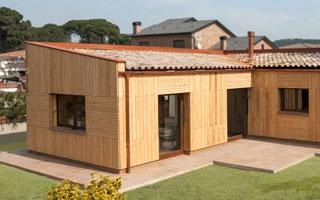Casa pasiva construida en Cataluña con certificado Passivhaus PassivPalau