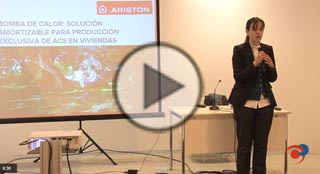 Video de la ponencia de Ariston sobre la bomba de calor