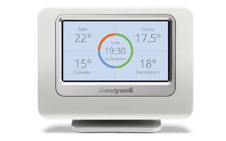Regulación inteligente de la calefacción con Evohome de Honeywell