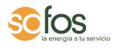 Sofos energía logotipo