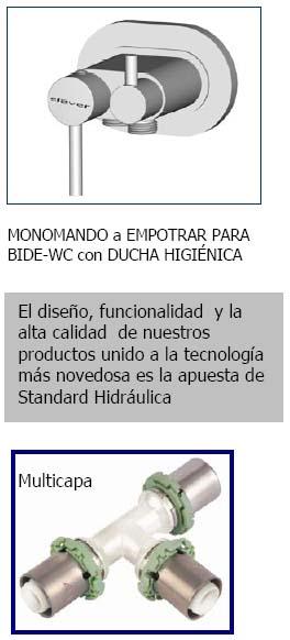 Productos novedosos de Standard y Comap
