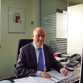 Juan Carlos Luján, director financiero de Grupo Arco