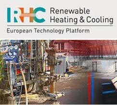 Logotipo de la Conferencia de la Plataforma Tecnológica Europea Calefacción y refrigeración renovables