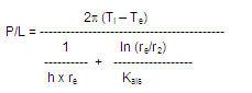 fórmula de calcculo de pérdidas