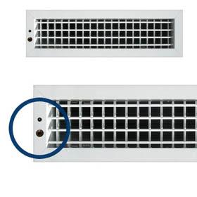 Rejilla motorizada de impulsi n air nova para aire for Salida aire acondicionado