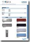 Catalogo de aire acondicionado de Kaysun