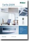 Catalogo y precios de aire acondicionado de Vaillant