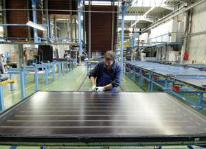 Fabrica de energia solar