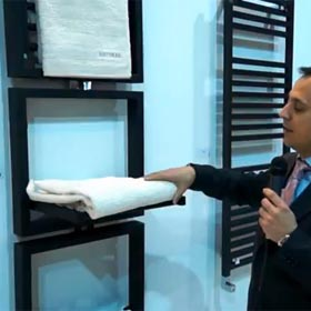 Radiador toallero para secado de toallas