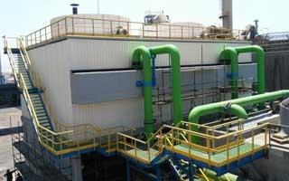 Nueva Torre de Refrigeración de Torraval en la fundición de Atlantic Copper en Huelva