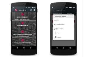 LG desarrolla una aplicación móvil desde la que ofrece soporte técnico