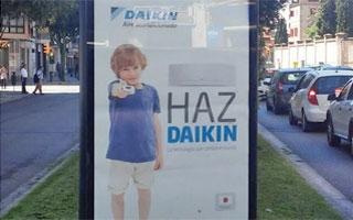 """Daikin continúa con la difusión de su campaña """"Haz Daikin"""" en las ciudades"""