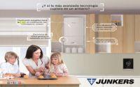 Junkers bonifica las instalaciones de calderas de condensación