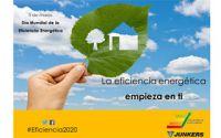 Junkers en el Día Mundial de la Eficiencia Energética con el #ObjetivoEficiencia2020
