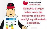 Concurso en Facebook de Saunier Duval sobre las normativas de ecodiseño y etiquetado energético