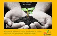 """Junkers celebra el Día de la Tierra fomentando la campaña """"Los árboles para la Tierra"""""""