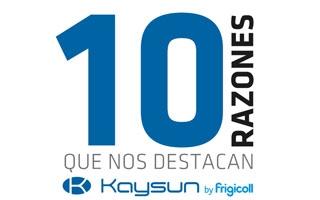Diez razones para confiar en aire acondicionado Kaysun