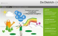 De Dietrich crea una web informativa sobre la nueva Normativa europea de ecodiseño ERP