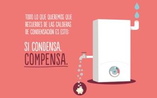 """Junkers colabora en la campaña """"Si condensa compensa"""" en apoyo a las calderas de condensación"""