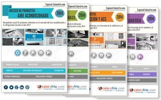 Dossier Especial Productos 2014 - Aire Acondicionado, Calefacción, Ahorro de energía y renovables y Sanitarios
