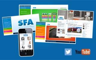 SFA Sanitrit ofrece nuevos canales de comunicación digital para el profesional