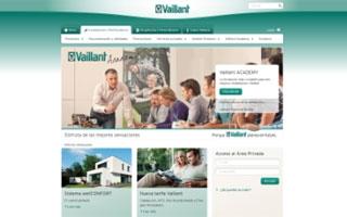 Vaillant renueva su web con un nuevo diseño adaptado a dispositivos móviles