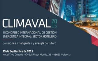 URSA patrocina el III Congreso internacional de gestión energética integral en el sector hotelero, Climaval 2015