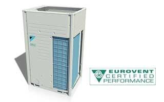 La gama VRV de Daikin obtiene la certificación energética de Eurovent