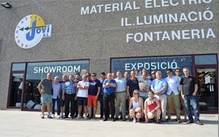 Reunión en Girona de distribuidores de fontanería y saneamiento de Cealsa