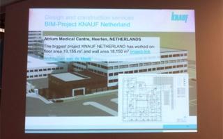 Knauf apuesta por la tecnología BIM como estrategia hacia una edificación más sostenible
