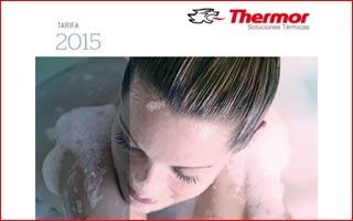 Nueva Tarifa 2015 de Thermor con nuevas gamas de termos y calentadores para agua caliente sanitaria