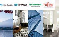 Eurofred presenta los catálogos de climatización de Fujitsu, General, Hiyasu y Fuji Electric