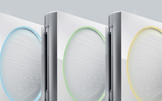 Aire acondicionado split inverter Artcool Stylish de LG, el único con iluminación LED