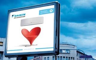 """Campaña de aire acondicionado Daikin: """"Tecnología que enamora"""""""