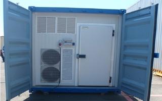 Cámaras frigoríficas portátiles para la conservación de productos Air-Frío