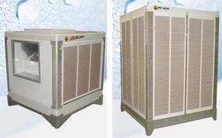 Climatizadores evaporativos Met Mann AD PREMIUM de 5.500 hasta 63.000 m3/h