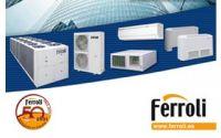 Nueva tarifa de precios de aire acondicionado y energías renovables de Ferroli