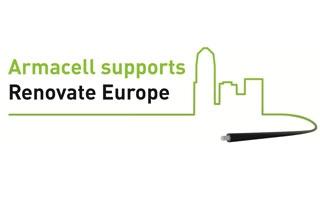 Armacell apoya la campaña Renovate Europe para reducir el consumo de energía de los edificios europeos