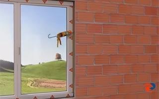 Soluciones Sika para pegado y sellado de ventanas