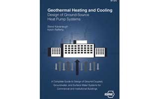 ASHRAE publica una revisión de su libro sobre bombas de calor geotérmicas