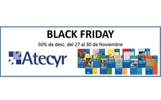 Atecyr se une al Black Friday + weekend y ofrece un 50% de descuento en la compra de los DTIE's