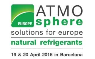 ATMOsphere Europe 2016, conferencia sobre refrigerantes naturales, elige Barcelona como nuevo destino
