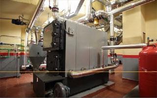CIAR 2015: Solución integral con calderas de biomasa Calordom en un edificio de viviendas de Madrid
