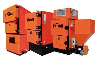 Ferroli incorpora en su centro formativo de Burgos la nueva caldera de biomasa ARES 180