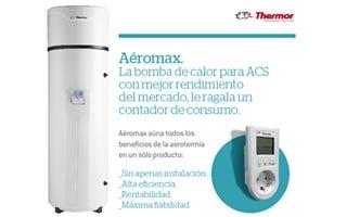 Aerotermia es ahorro: descúbrelo con la bomba de calor Aéromax de Thermor