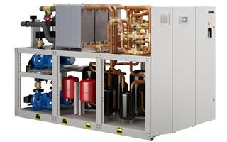Bombas de calor agua-agua Airlan NXP perfectas para instalaciones geotérmicas