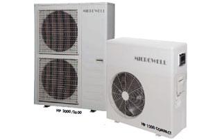 Bombas de calor para piscinas Serie HP Microwell de Tecna
