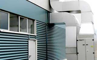 """Nuevas tarifas de generadores de aire caliente """"Tecnatherm"""" , Serie PKA-N para calefacción de instalaciones industriales"""