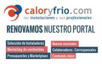 Nuevo portal Caloryfrio.com - Infografía