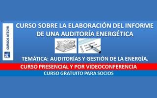 Atecyr lanza una serie de cursos por videoconferencia sobre gestión de la energía y eficiencia energética entre otros temas